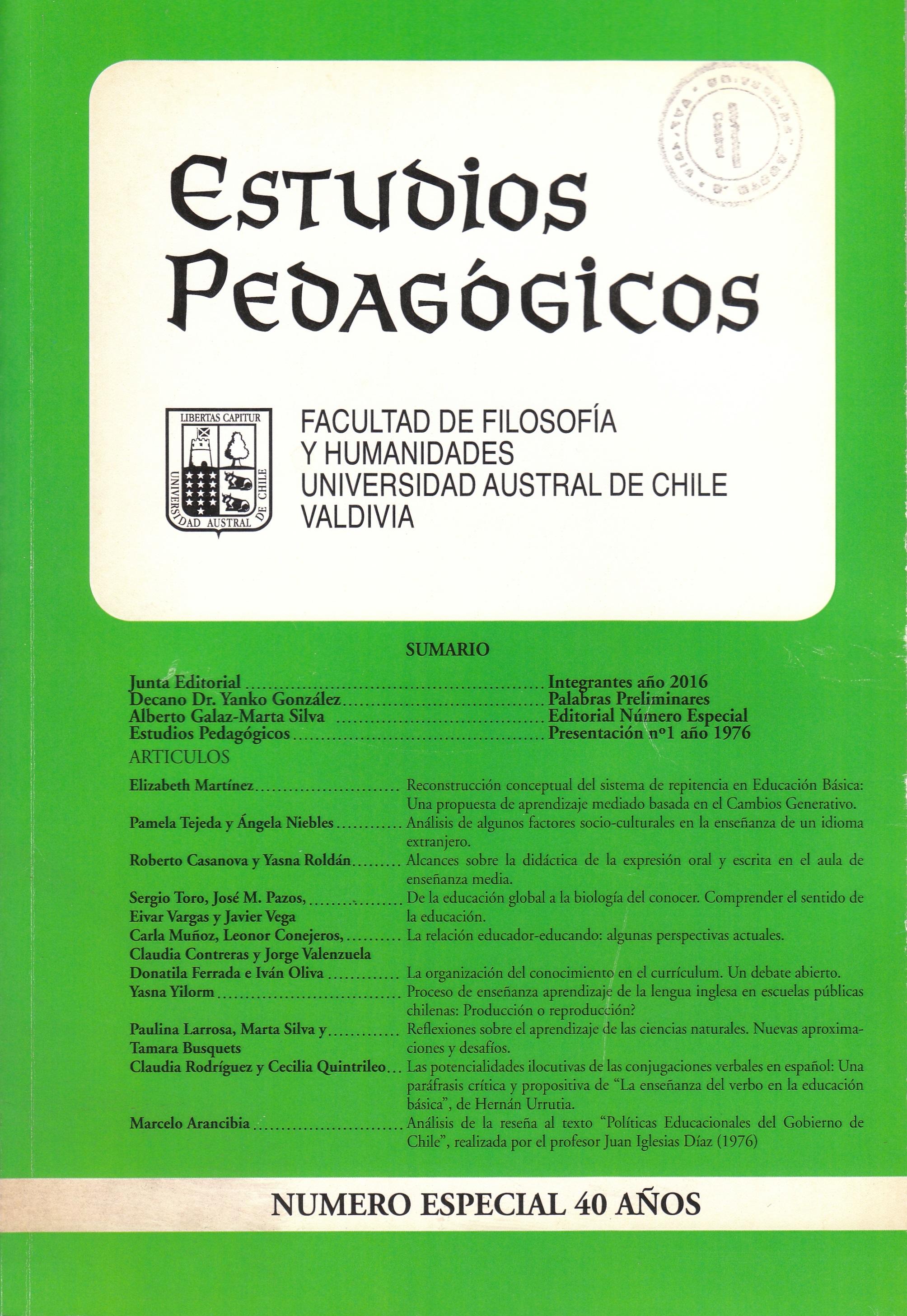 La organización del conocimiento en el currículum. Un debate abierto ...